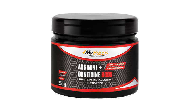 Arginina formula